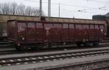 Vagon HŽ Carga tip Eaos-z u Crailsheimu, Njemačka, © zeljeznice.net