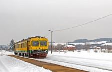 putnički vlak u Konjščini © zeljeznice.net, zeljko256