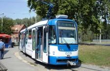 Tramvaj u okretištu Višnjevac © zeljeznice.net, tram4