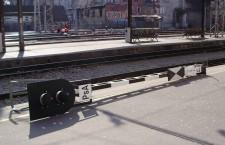 Stari signalni uređaj na Glavnom kolodvoru u Zagrebu tijekom promjene signalizacije 2013. godine © zeljeznice.net, tramvajac