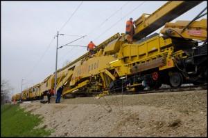 Nastavak radova na remontu pružne dionice Borongaj – Dugo Selo od 13. do 24. siječnja 2014.