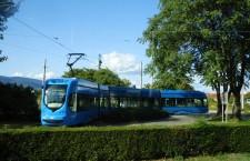 Tramvaj u okretištu Heinzelova © zeljeznice.net, tram4