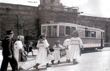 Tramvaj na Mirogoju 30-ih godina prošlog stoljeća