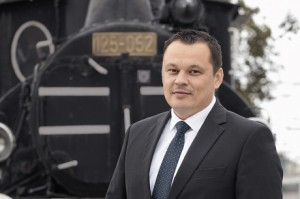 Mário Mát'aš doveo prvi privatni vlak na hrvatske pruge